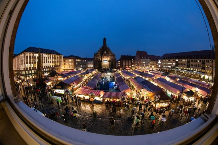 "Nuremberg's ""Christkindlesmarkt"" attracts more than two million visitors annually"