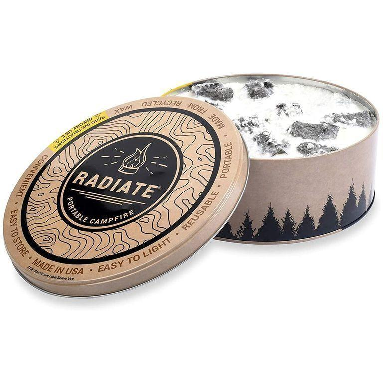 """<p>amazon.com</p><p><a href=""""https://www.amazon.com/Radiate-Portable-Campfire-Pack-Made/dp/B073QXYW38?tag=syn-yahoo-20&ascsubtag=%5Bartid%7C2164.g.36355369%5Bsrc%7Cyahoo-us"""" rel=""""nofollow noopener"""" target=""""_blank"""" data-ylk=""""slk:Shop Now"""" class=""""link rapid-noclick-resp"""">Shop Now</a></p><p>S'mores are no longer just a mid-summer camping treat! With this portable campfire, he can have them whenever, wherever.</p>"""