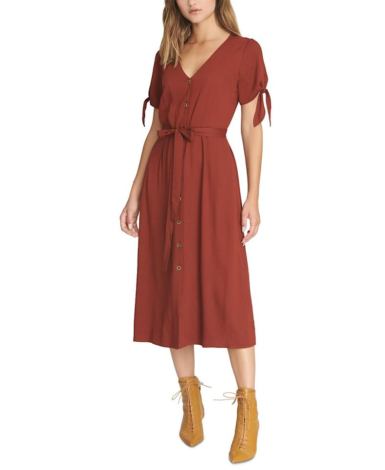 """<p>This <a href=""""https://www.popsugar.com/buy/Sanctuary-Cant-Get-Enough-Midi-Dress-493354?p_name=Sanctuary%20Can%27t%20Get%20Enough%20Midi%20Dress&retailer=macys.com&pid=493354&price=149&evar1=fab%3Aus&evar9=46666423&evar98=https%3A%2F%2Fwww.popsugar.com%2Ffashion%2Fphoto-gallery%2F46666423%2Fimage%2F46666727%2FSanctuary-Cant-Get-Enough-Midi-Dress&list1=shopping%2Cfall%20fashion%2Cdresses%2Cmacys&prop13=mobile&pdata=1"""" rel=""""nofollow"""" data-shoppable-link=""""1"""" target=""""_blank"""" class=""""ga-track"""" data-ga-category=""""Related"""" data-ga-label=""""https://www.macys.com/shop/product/sanctuary-cant-get-enough-midi-dress?ID=9540636&amp;CategoryID=5449#fn=sp%3D1%26spc%3D8291%26searchPass%3DmatchNone%26slotId%3D20"""" data-ga-action=""""In-Line Links"""">Sanctuary Can't Get Enough Midi Dress </a> ($149) looks great with booties.</p>"""