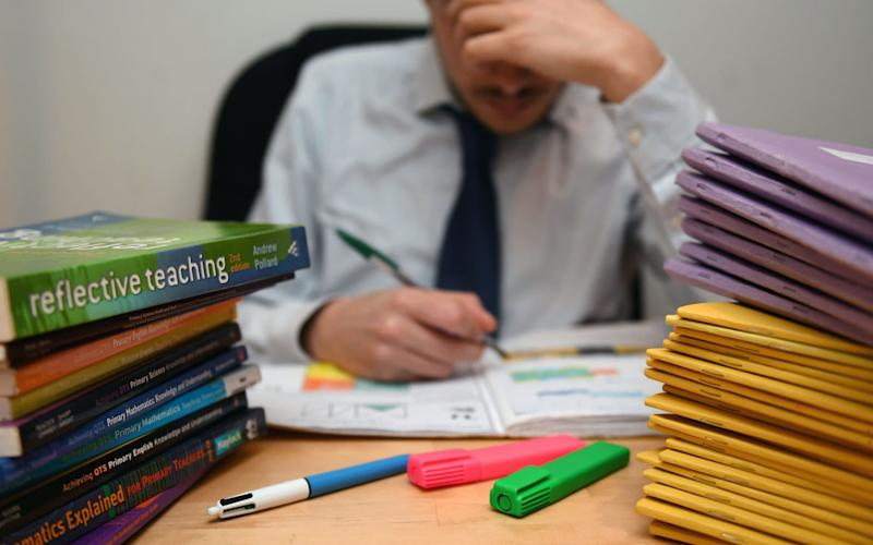 Teachers are spending an excessive amount of time on detailed marking to appease parents, NASUWT conference told - Credit: Victoria Jones