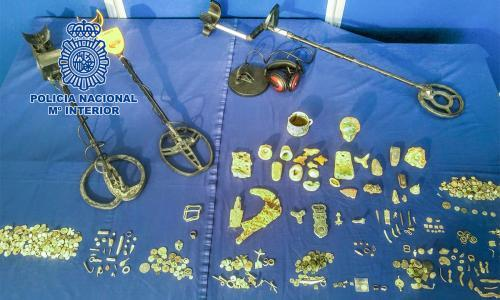 Spanish police recover ancient treasure from alleged looter
