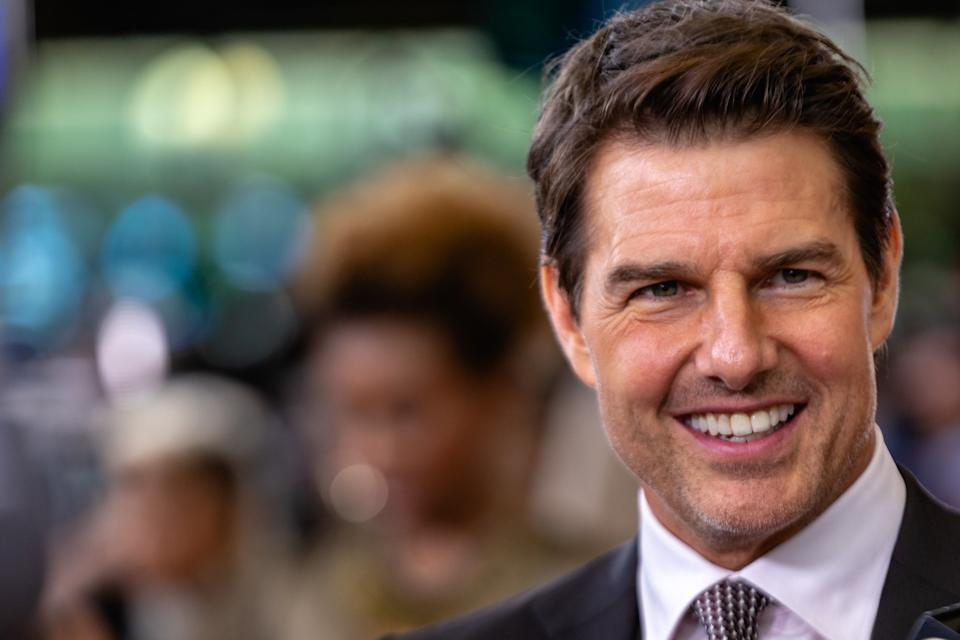 Producer and Actor Tom Cruise, who plays