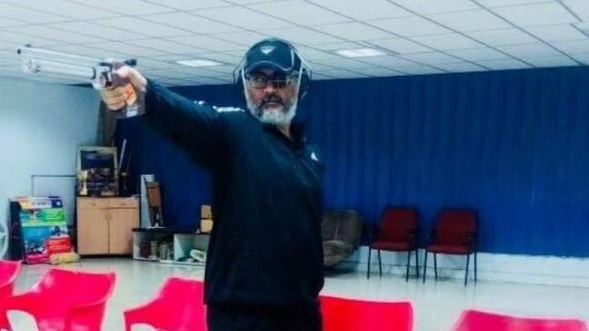 Ajith's recently-released flick Viswasam has entered fourth week and is still running packed houses in theatres. Recently, the actor was spotted at Chennai Rifle Club.