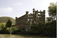 <p>In the early 1900s, Frank Bannerman built a castle on an island in the Hudson River, 50 miles from New York City. The never-finished castle turned into a storage facility for his weapons surplus business.</p><p>While not technically a true military site, the ammunitions held on the site consisted of a vast array of military weapons, including historic relics belonging to George Washington. Explosions and fires have mired the site for 100 years and the decrepit old shell of the castle remains owned by the state of New York.</p>