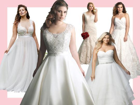 10 Gorgeous Plus Size Wedding Dresses