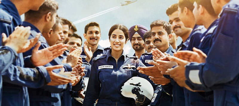 Gunjan Saxena is synonymous with valour, courage, and bravery. In 1999, during the Kargil War, she was at the frontlines, carrying out rescue operation, and becoming the first female IAF officer to enter the war zone. The fearless pilot even braved a near death experience during the combat, but she never gave up on her duties. Today, her life and achievements serve as inspiration and the subject of the biopic, 'Gunjan Saxena – The Kargil Girl', starring Janhvi Kapoor.