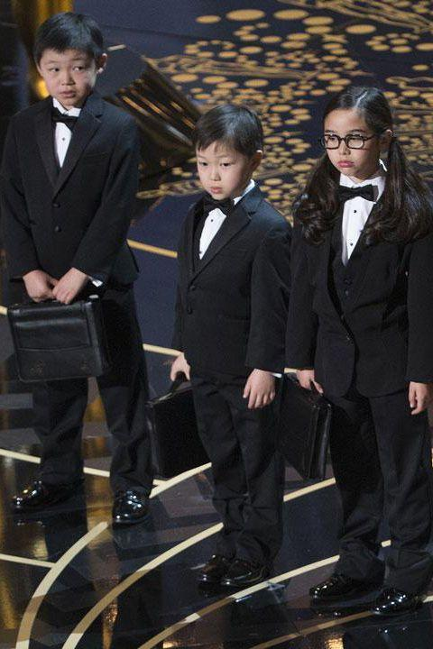 """<p>As part of a sketch, <a href=""""https://www.nytimes.com/2016/03/01/movies/chris-rocks-asian-joke-at-oscars-provokes-backlash.html?mtrref=www.google.com&gwh=E23C990E608B136FB8C6BF870FFB1870&gwt=pay"""" rel=""""nofollow noopener"""" target=""""_blank"""" data-ylk=""""slk:Chris Rock brought Asian children onstage"""" class=""""link rapid-noclick-resp"""">Chris Rock brought Asian children onstage</a>, pretending they were PricewaterhouseCoopers accountant<span class=""""redactor-invisible-space"""">s (the people responsible for counting up the Academy members' votes for the awards). He then continued with a joke about Asian children making phones. The joke was not well-received by actors, <a href=""""https://www.vanityfair.com/hollywood/2016/03/chris-rock-asian-jokes-response"""" rel=""""nofollow noopener"""" target=""""_blank"""" data-ylk=""""slk:who together, wrote a letter protesting the joke"""" class=""""link rapid-noclick-resp"""">who together, wrote a letter protesting the joke</a>. The Academy later apologized. </span></p>"""