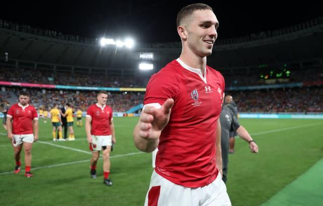 George North will earn his 92nd cap for Wales (David Davies/PA)