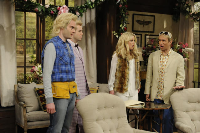 "Christina Applegate hosts the fourth episode of ""Saturday Night Live"" Season 38."