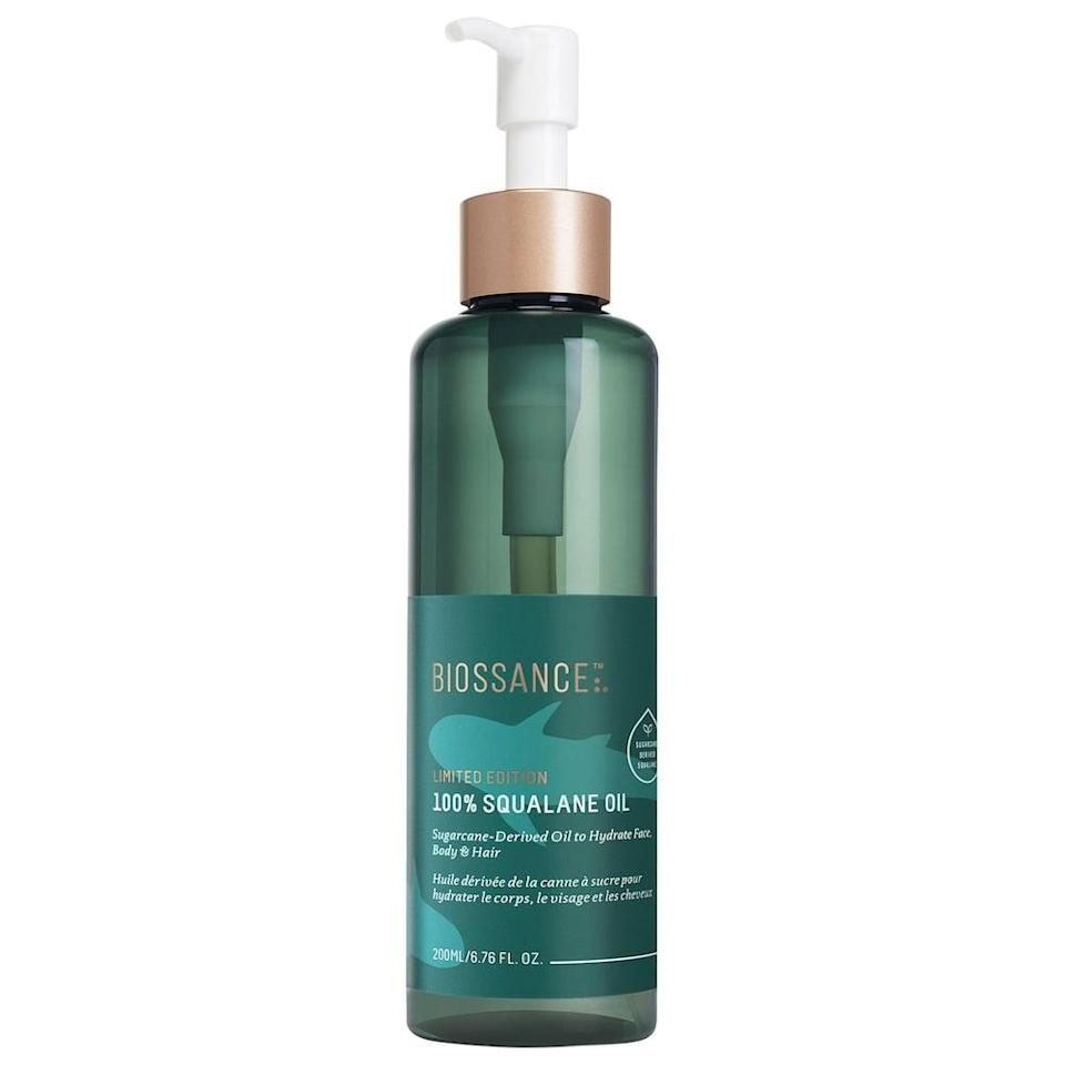 <p>Keep skin hydrated with this <span>Biossance 100% Sugarcane Squalane Oil</span> ($48).</p>