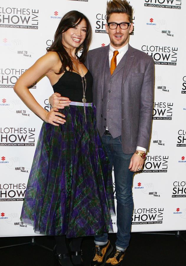 Daisy Lowe and Henry Holland opened the Clothes Show Live 2012 in Birmingham ©Rex