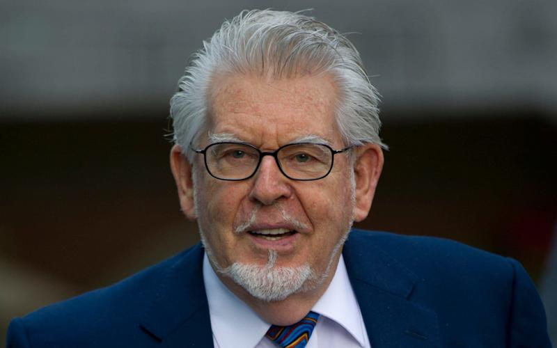 Rolf Harris was jailed in 2014 but will be released on Friday - Heathcliff O'Malley