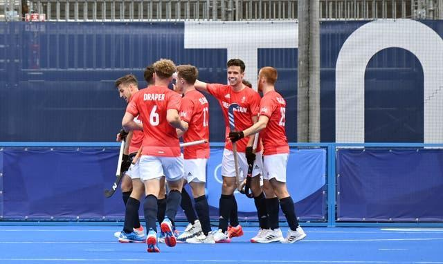 Great Britain's men face a quarter-final date with India
