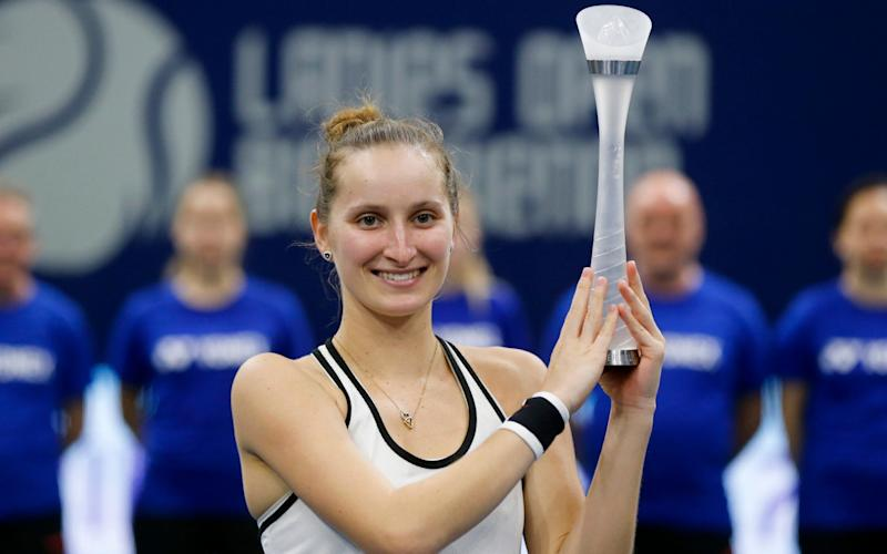 Remember the name: Marketa Vondrousova - Keystone