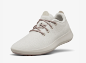 "Allbirds aren't <a href=""https://www.glamour.com/story/allbirds-runner-sneaker-review?mbid=synd_yahoo_rss"" rel=""nofollow noopener"" target=""_blank"" data-ylk=""slk:your typical sneaker"" class=""link rapid-noclick-resp"">your typical sneaker</a>, and that's what makes it a special—and thoughtful—gift for the holidays. The brand puts sustainability and comfort first by using renewable materials that are better for the planet. The Wool Runner Mizzles in particular are great for the winter months since they are made with merino wool and have a puddle guard (yes, really). Stylish and practical—who doesn't appreciate that? $115, Allbirds. <a href=""https://www.allbirds.com/products/womens-wool-runner-mizzles-ginseng"" rel=""nofollow noopener"" target=""_blank"" data-ylk=""slk:Get it now!"" class=""link rapid-noclick-resp"">Get it now!</a>"
