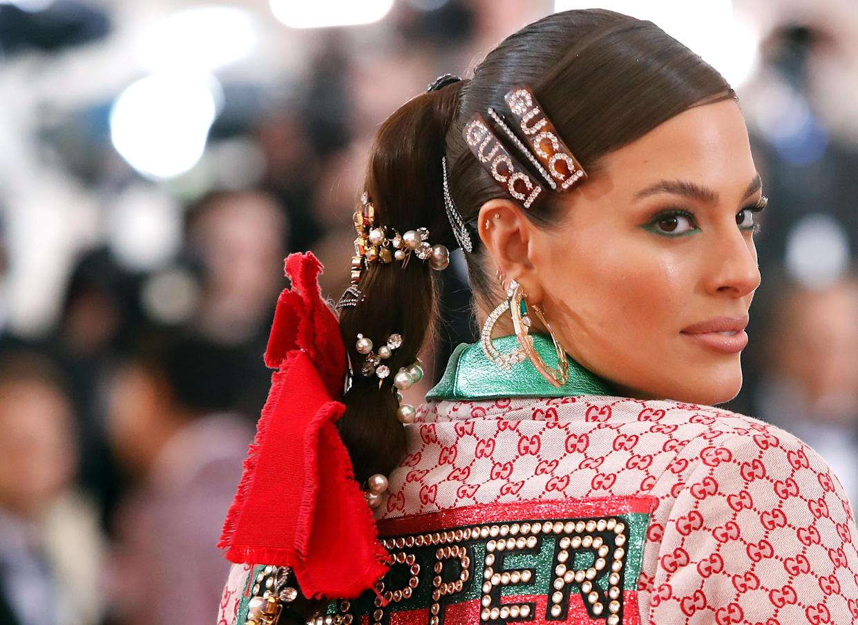 Ashley Graham (pictured in 2019) is pregnant with her second child. (Photo: REUTERS/Andrew Kelly)