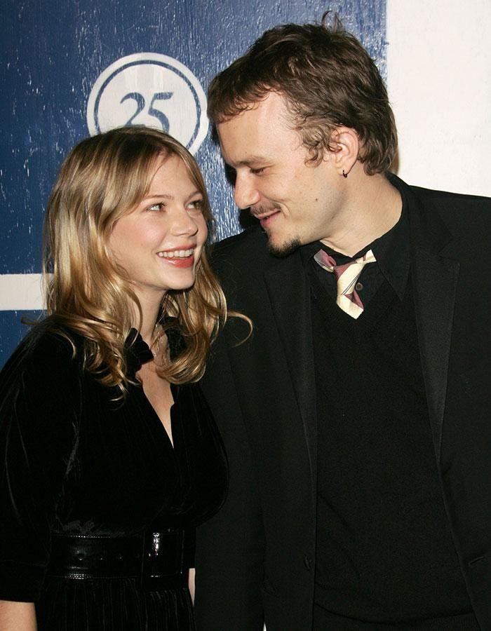 Michelle and Heath. Source: Getty Images.