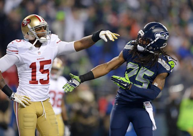 Richard Sherman really just doesn't like Michael Crabtree, blasts him again