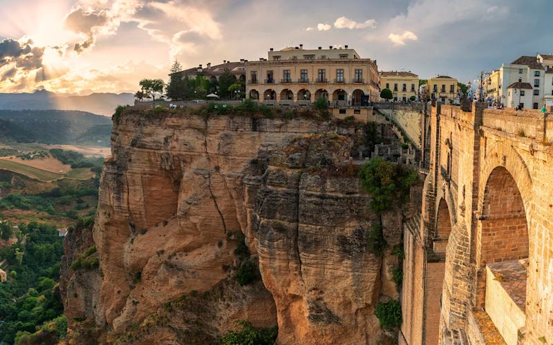 A Parador with a fine view in Ronda - getty