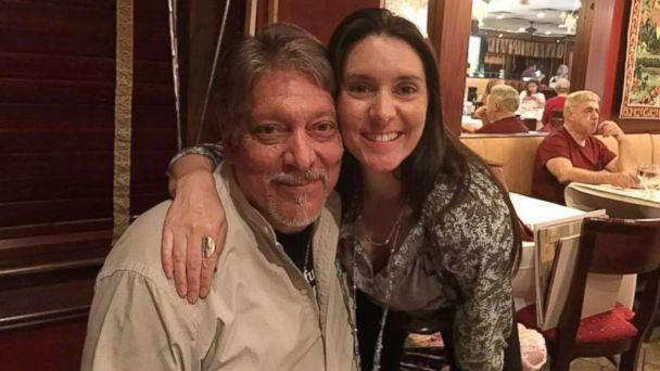 PHOTO: Al Annunziata, 63, came face-to-face with his daughter, Jyll Justamond, 40, on June 11 in New Jersey, after she tracked him down on Facebook. (Jyll Justamond )