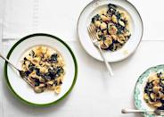 """Orecchiette (""""little ears"""" in Italian) are the perfect shape for cupping the kale and breadcrumbs. <a href=""""https://www.bonappetit.com/recipe/orecchiette-with-kale-and-breadcrumbs?mbid=synd_yahoo_rss"""" rel=""""nofollow noopener"""" target=""""_blank"""" data-ylk=""""slk:See recipe."""" class=""""link rapid-noclick-resp"""">See recipe.</a>"""