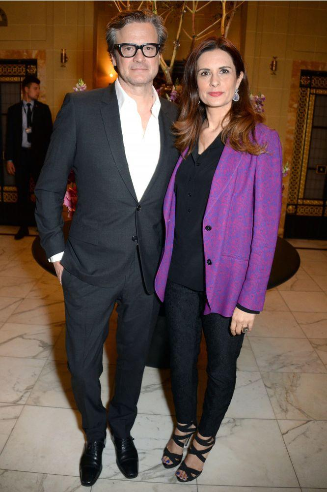 Colin Firth and Wife Livia Settle with Her Ex-Lover in ...