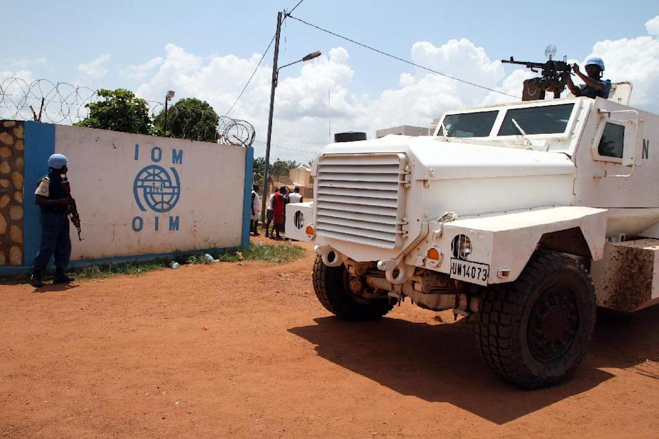 Faced with proliferating sexual abuse scandals involving UN peacekeepers, particularly in the Central African Republic, UN Secretary-General Ban Ki-moon has vowed to repatriate entire units if necessary (AFP Photo/Edouard Dropsy)