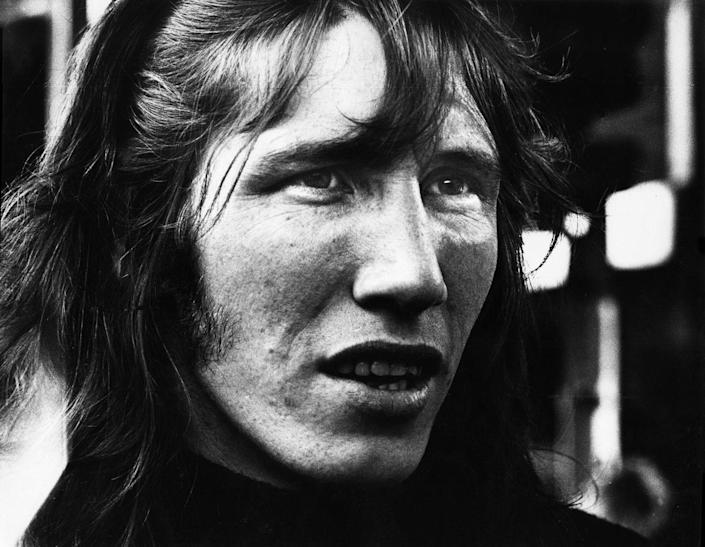 <p>Roger Waters of Pink Floyd posed backstage at the Olympisch Stadion on May 22, 1972 in Amsterdam, Netherlands.</p>