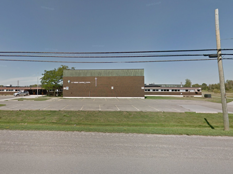 St. Therese Catholic elementary school in Kansas City, Missouri: Google street view