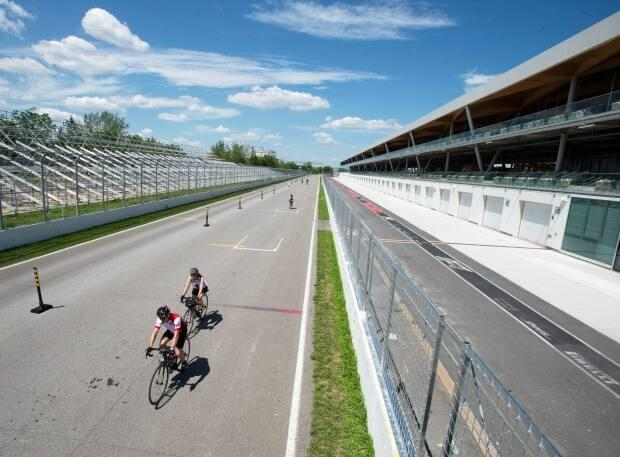 The Circuit Gilles Villeneuve in Montreal has other uses when high-performance race cars aren't roaring around the track.