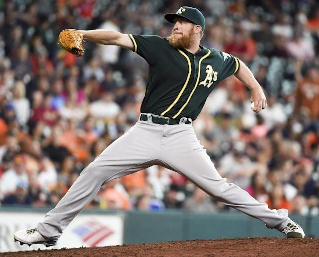 Sean Doolittle is heading to Washington. (AP Photo)