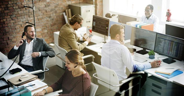 """<span class=""""caption"""">Misusing computers at work can be costly.</span> <span class=""""attribution""""><a class=""""link rapid-noclick-resp"""" href=""""https://www.shutterstock.com/image-photo/business-people-meeting-discussion-working-office-387070813?src=ZhF_vSAjiYFxryrXKOB_rw-1-0"""" rel=""""nofollow noopener"""" target=""""_blank"""" data-ylk=""""slk:rawpixel/Shutterstock.com"""">rawpixel/Shutterstock.com</a></span>"""