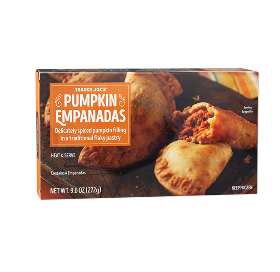 <p><strong>Flaky pastry dough is filled with sweet pumpkin and fried until perfectly crispy in these yummy empanadas. </strong>We love the cinnamon, gloves and allspice notes that make this treat simply delectable. </p>