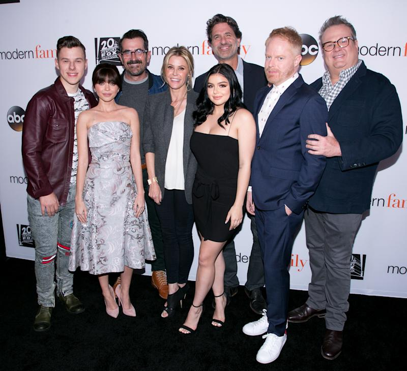 "The cast of ""Modern Family."" (Photo by Gabriel Olsen/FilmMagic)"