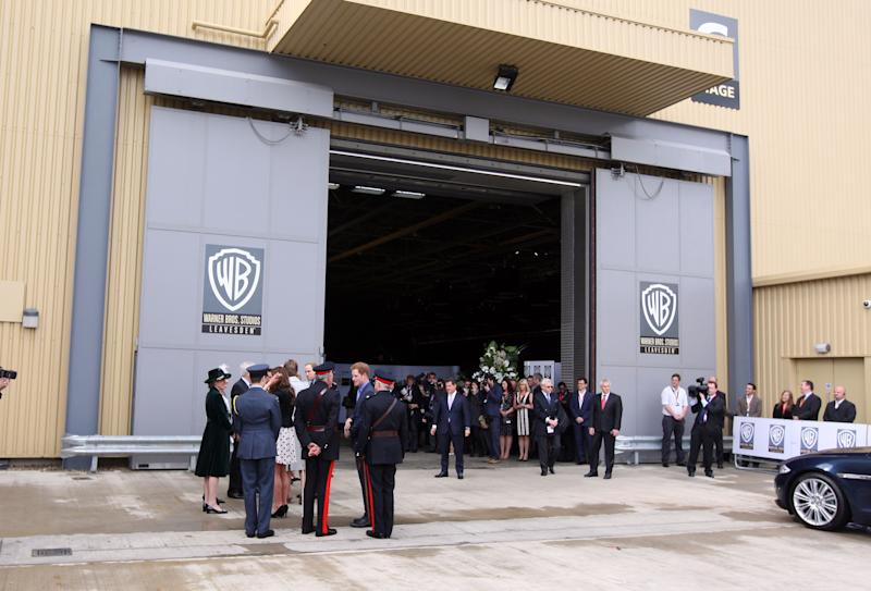 Warner Bros studio fire in Leavesden was on the set of Armando