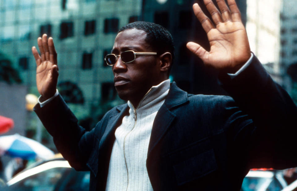 In one of the biggest celebrity tax scandals in history, actor Wesley Snipes cheated the IRS out of $7 million worth of taxes in 2008. His crime landed Snipes a hefty bill and a three-year sentence in federal prison. He was released in April 2013. (Photo: Getty Images)