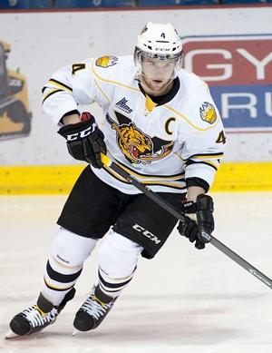Victoriaville Tigres blueliner Petr Sidlik will captain the team from the back end. (CP / Ghyslain Bergeron)