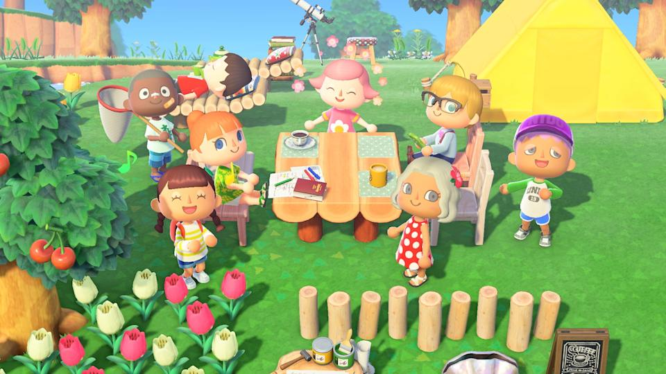 'Anima Crossing: New Horizons' is one of the most relaxing, easy going games you can play. As long as you can get your hands on a Switch. (Image: Nintendo)