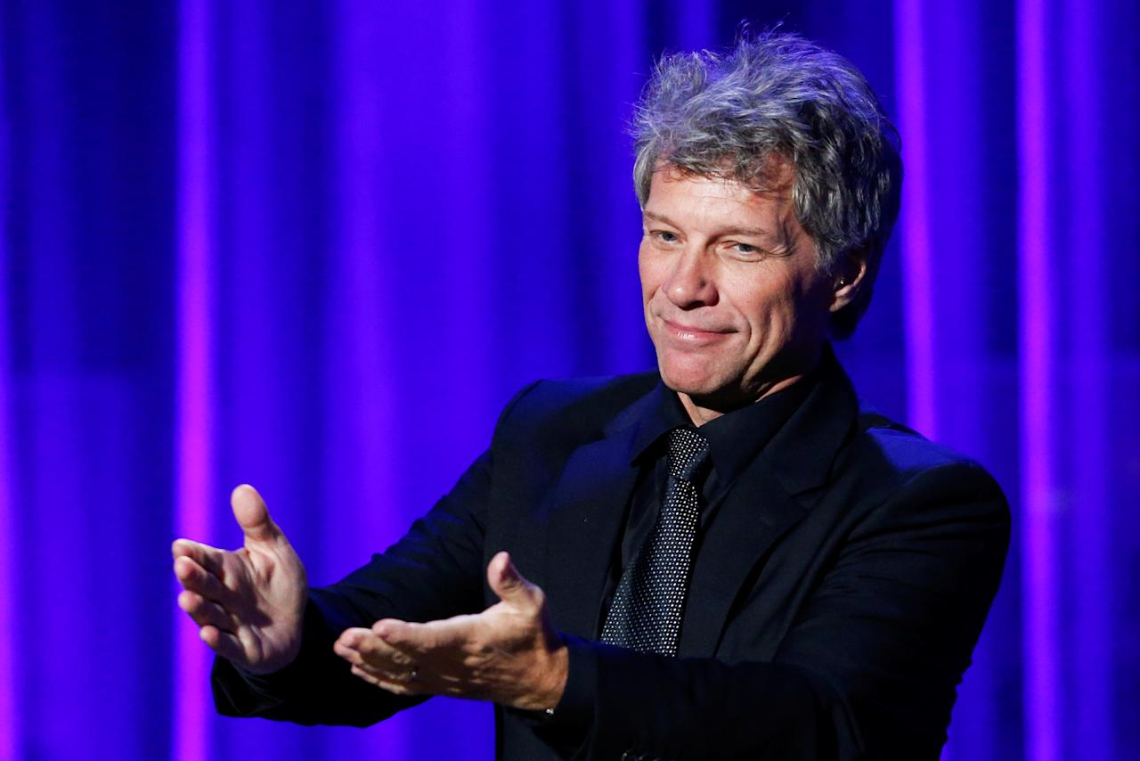 <strong>Net worth: $410 million </strong>John Francis Bongiovi Jr., known professionally as Jon Bon Jovi, is an American singer-songwriter, record producer, philanthropist, and actor. Bon Jovi is best known as the founder and frontman of the Grammy Award-winning rock band Bon Jovi, which was formed in 1983. Bon Jovi has released 14 studio albums with his band; to date, the band has sold over 130 million albums worldwide. Bon Jovi has also released two solo albums. In the 1990s, Bon Jovi started an acting career, starring in the films Moonlight and Valentino and U-571 and appearing on television in Sex and the City and Ally McBeal.