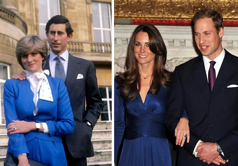 William proposed to Kate with his mother's engagement ring.