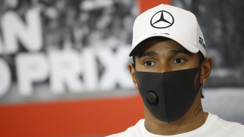 It's lonely at the top, says Lewis Hamilton