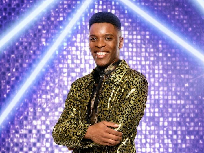 Rhys Stephenson is competing on 'Strictly' 2021 (PA)