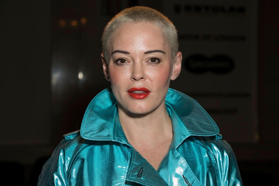 """Rose McGowan recalls being upset when """"Charmed"""" was renewed. (Photo: Vianney Le Caer/Invision/AP)"""