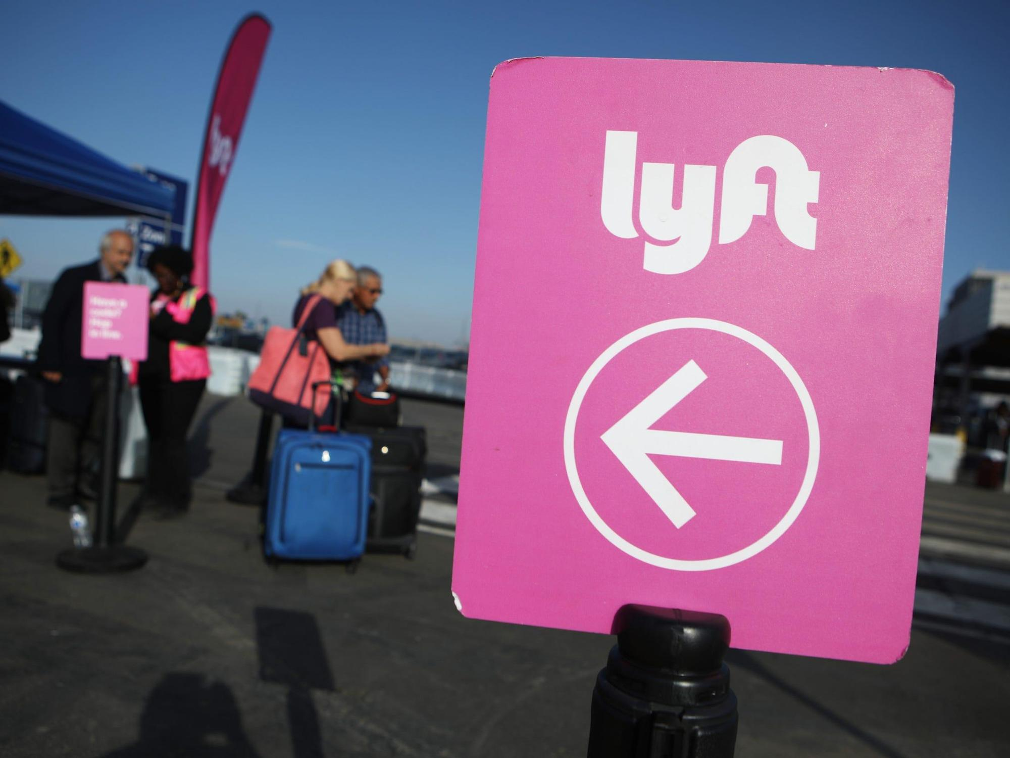You can now book a Lyft ride without using the app - just like a taxi