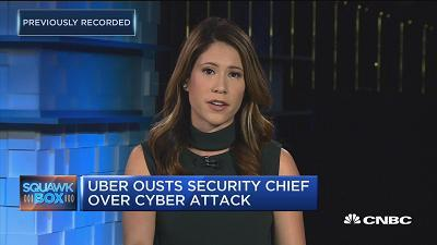 CNBC's Deirdre Bosa reports Uber concealed a cyber breach for over a year and fired its security chief over the attack.