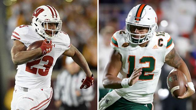 Sporting News will provide live updates throughout Saturday's Wisconsin-Miami matchup at the Orange Bowl.