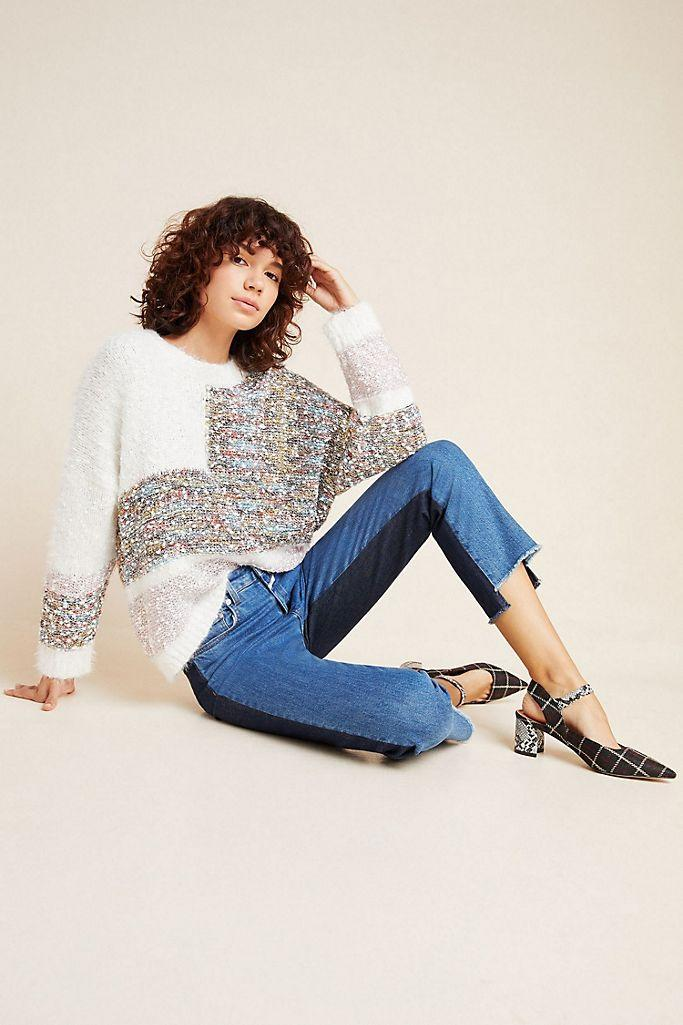 """<br><br><strong>Raga Anthropologie</strong> Raga Dempsey Sweater, $, available at <a href=""""https://go.skimresources.com/?id=30283X879131&url=https%3A%2F%2Fwww.anthropologie.com%2Fshop%2Fraga-dempsey-sweater"""" rel=""""nofollow noopener"""" target=""""_blank"""" data-ylk=""""slk:Anthropologie"""" class=""""link rapid-noclick-resp"""">Anthropologie</a>"""