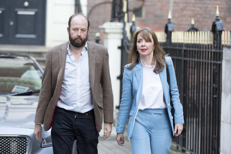 Former chiefs of staff Nick Timothy and Fiona Hill