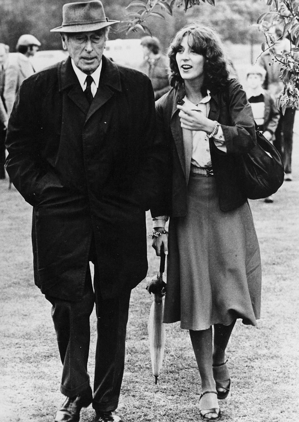 Lord Mountbatten and his granddaughter, Amanda Knatchbull in 1978Rex Features