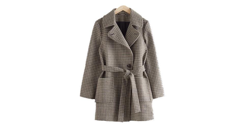 Belted Single Breasted Coat